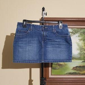 Aeropostale denim mini skirt Size (5/6)A73